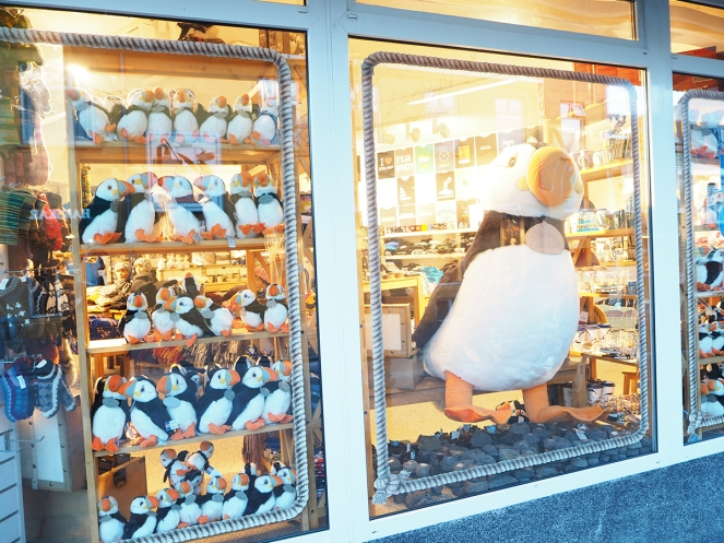 Reykjavik - Puffin Store